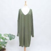 BY BASICS Kleid avocado/bottle green