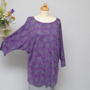 DIVA Top Butterfly aubergine 28