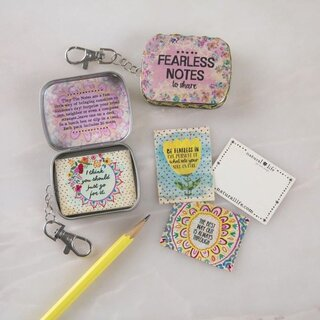 Tiny Tin Fearless Notes