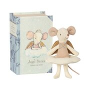 MAILEG - Angel mouse, big sister in book